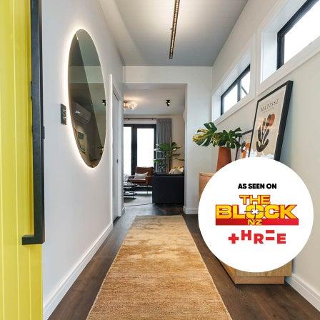 Three's The Block NZ: Entrance, Stairs, Hallway & Powder Rooms